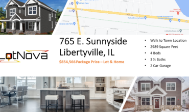 Build the Parker on 765 E. Sunnyside, Libertyville